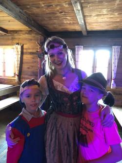 Johanny en 2 van mijn 3 kids!