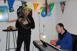 Danny Last met de bariton begeleiden