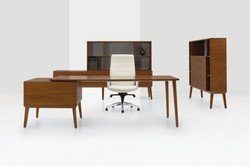 Corby Wood Desking