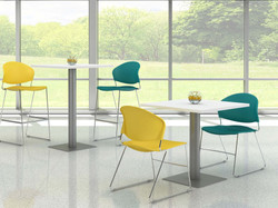 Jet Chairs ,Breakrm tables, regular and Cafe Ht