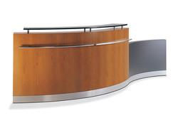 Woodtech Reception Desk 1