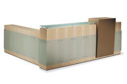 Woodtech Reception Desk 2