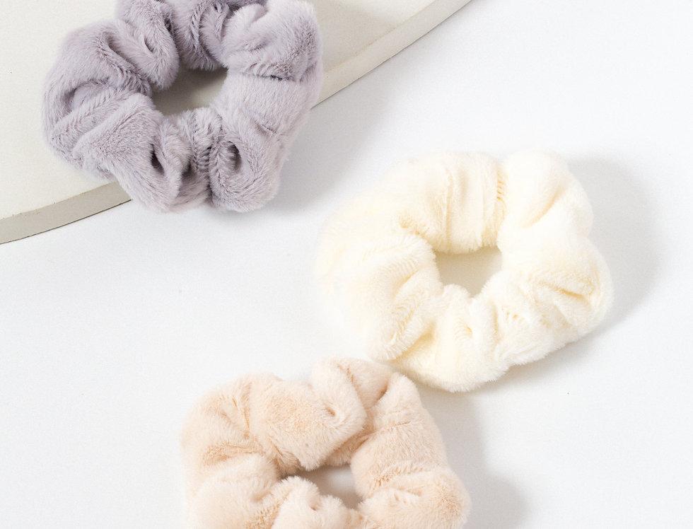 Fluffy Friendship Scrunchies