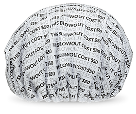 The Fifty Dollar Blowout ShowerShell Shower Cap