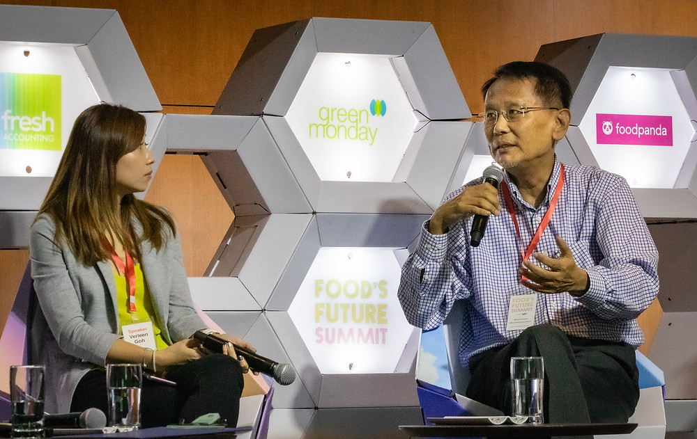 CEO James CHANG at the Food's Future Summit 2019