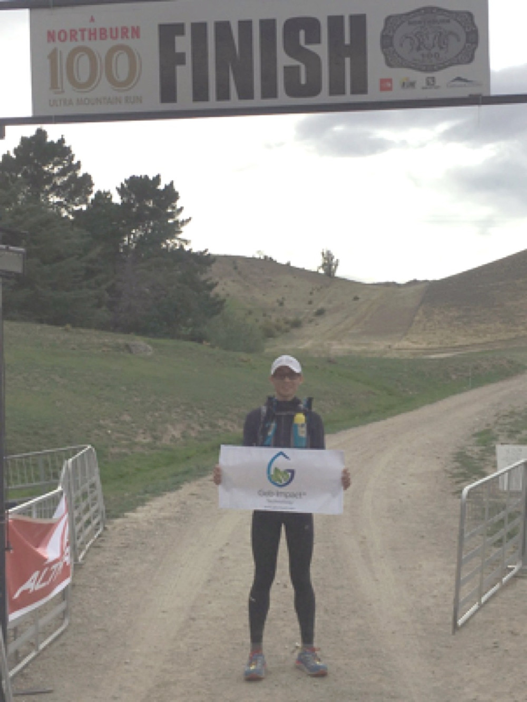 Finish Line at the Northburn 100miles Ultra Mountain Run