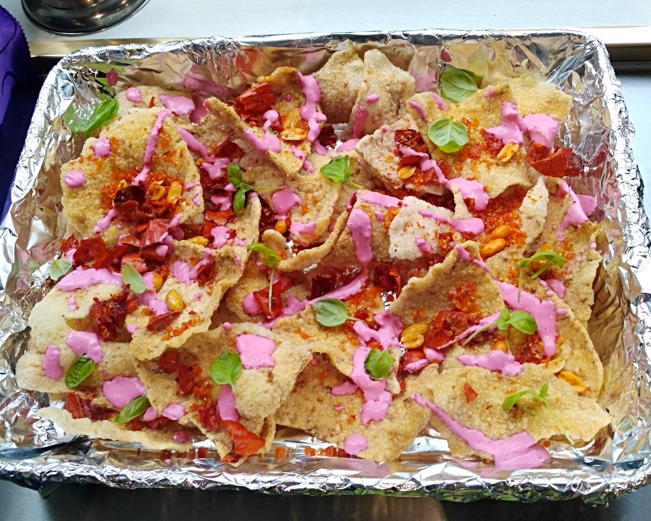 Shrimp Chip with Ma La Spirulina