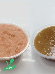 Sticky Rice Cake+Vegan Turnip Cake with