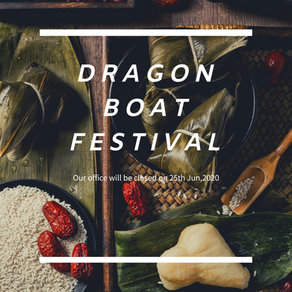 It is Dragon Boat Festival!