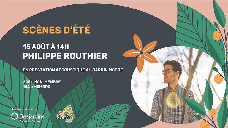 Scènes d'été - Philippe Routhier