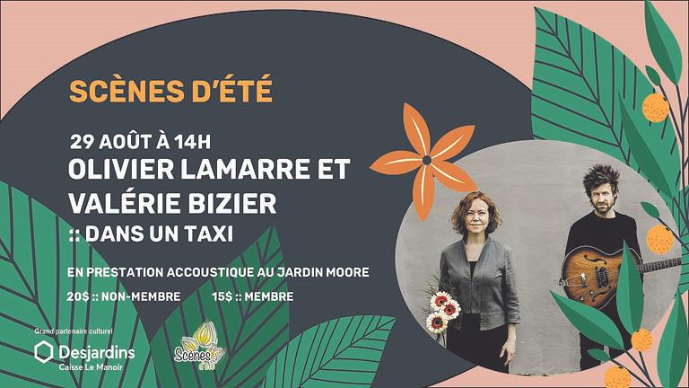 Scènes d'été - Olivier Lamarre & Valérie Bizier :: Dans un taxi