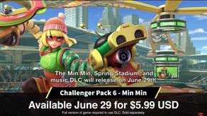 Smash Bros Ultimate Gets Min Min!
