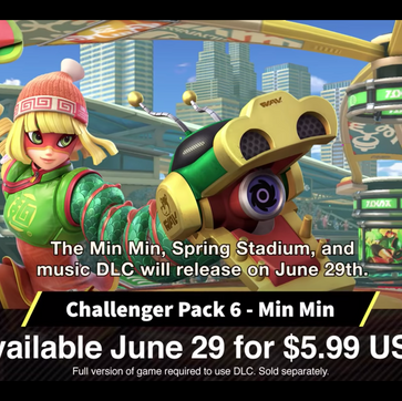 Smash Bros Ultimate Gets Min Min!
