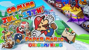 Paper Mario: The Origami King Surprise Announcement