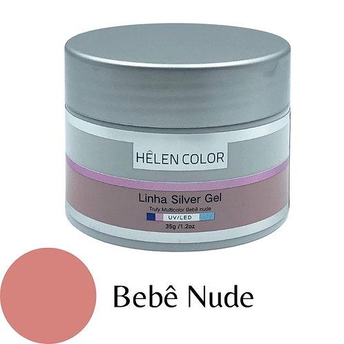 Gel para Unhas de Gel Helen Color Silver – Bebê Nude 35g
