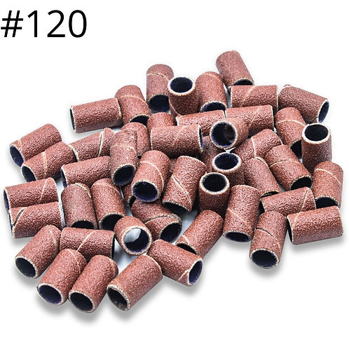 Lixa Refil para Broca Lixadeira Elétrica Unha #120, 50 Und