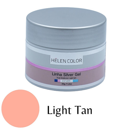 Gel para Unhas de Gel Helen Color Silver – Light Tan 35g