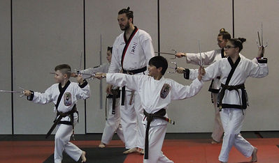 Karate Weapons Class in Gates