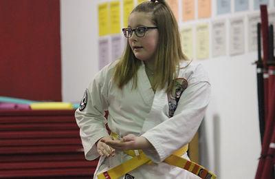 Teen Karate Class in Rochester