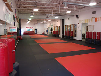 Dojo Floors at Samurai Martial Arts