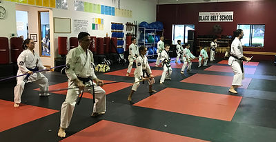 Learning Leadership in Karate Classes
