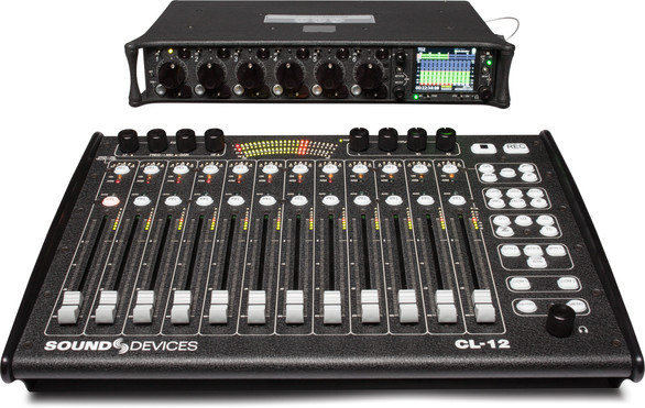 SOUND DEVICES CL-12 Fader Controller added.