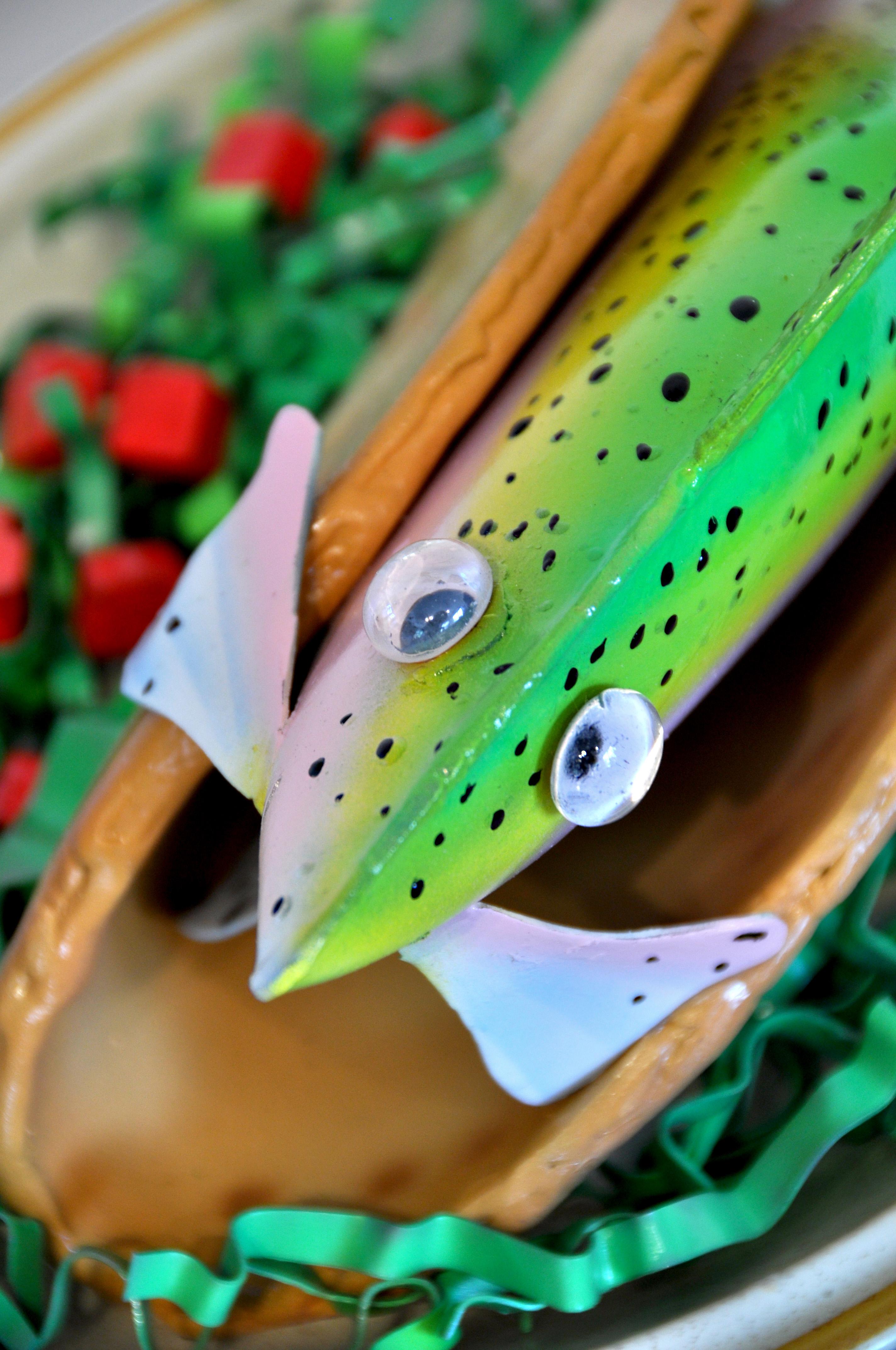"""""""Pescado Taco"""" detail"""