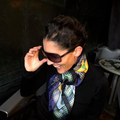 Megamendung - Silk twill kerchief