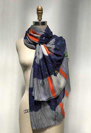 Megamendung - Modal/Cashmere scarf