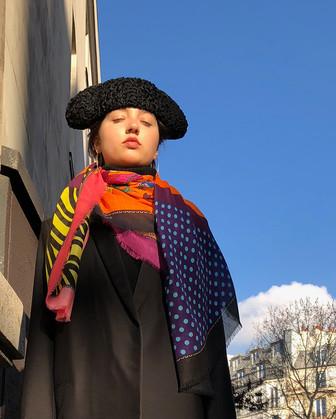 Merak - Modal/Cashmere scarf