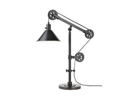 Pulley Table Lamp