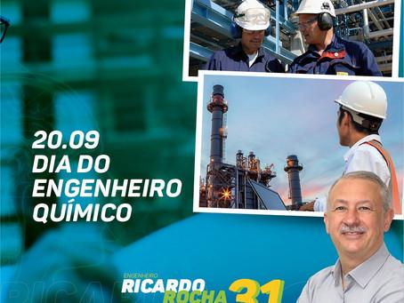 20.09: Homenagem do Eng. Ricardo Rocha aos Engenheiros Químicos
