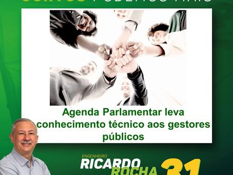 COMPROMISSO CUMPRIDO: Agenda Parlamentar leva conhecimento técnico aos gestores públicos