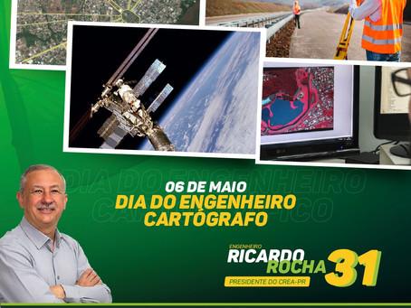 06 DE MAIO: Parabéns aos Engenheiros Cartógrafos