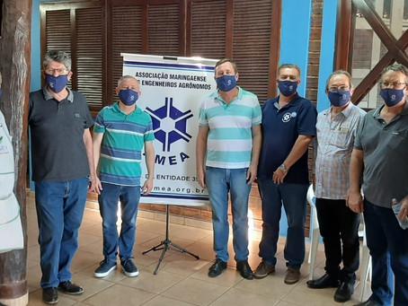 Sábado de muito diálogo com os profissionais de Maringá