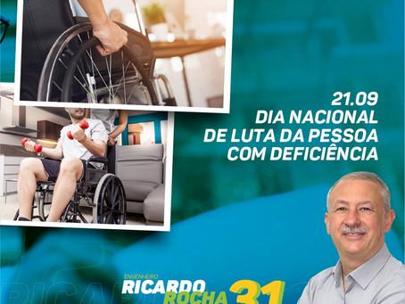 21.09: Dia Nacional de Luta da Pessoa com Deficiência