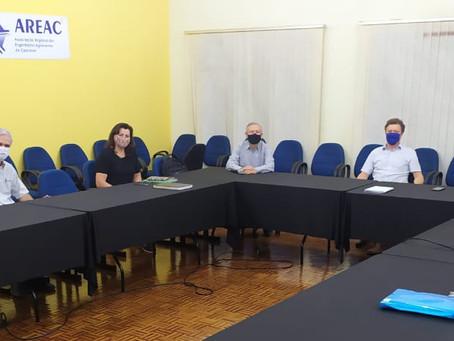 Fiscalização inteligente pauta reunião do Eng. Ricardo Rocha com a AREAC