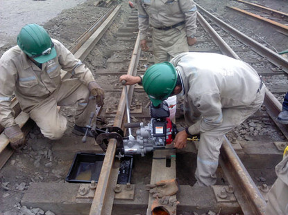 Mantenimiento de patio ferroviario - Votorantim - Cajamarquilla