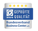 Wir haben das Qualitätssiegel vom Bundesverband Business Center e.V.