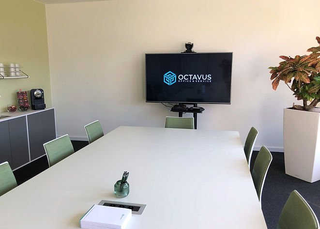 We offer video conferencing for your meeting.