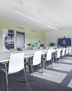 Rent a conference room: The Alexanderplatz accommodates 42 people.