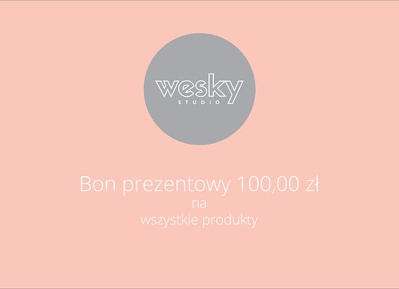 Bon prezentowy 100,00 zł