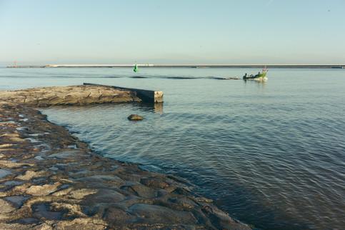 Fischerboot in Schweine