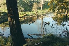 Wassergraben im West Fort