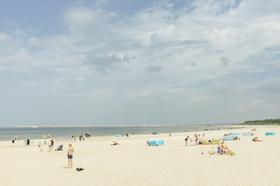 Sommer am Strand von Swinemünde