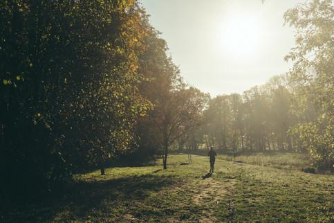 Joggen im Kurpark