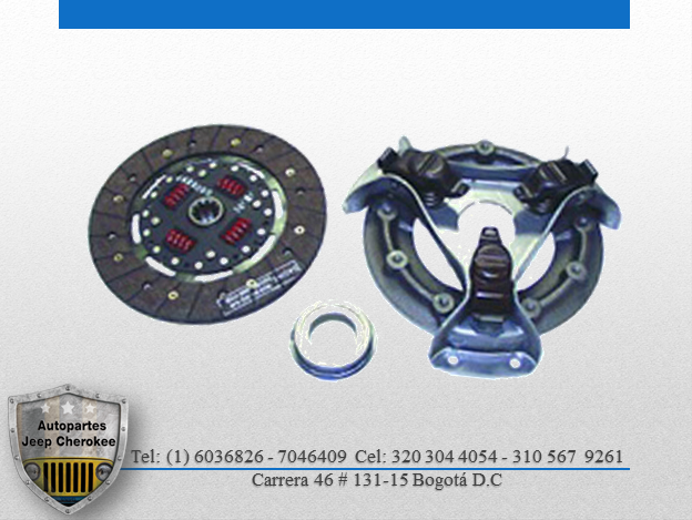 kit de clutch willys 4 cilindros