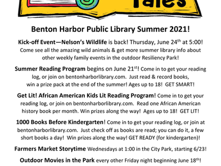 The Summer Reading Program is Here!