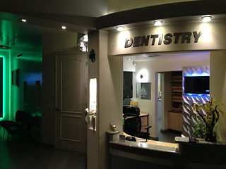 Our beautiful reception area at Y2K Dentistry, where we treat our patients like family