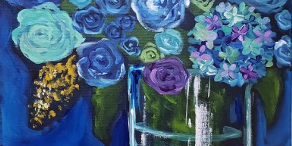 BLUE FLORAL |  JULY 23 | 6-8:30 pm | $35